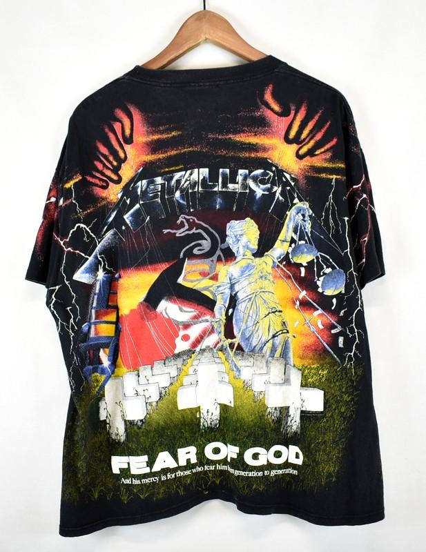 f6db15a8 ... FEAR OF GOD/ フィアーオブゴッド 4th collection METALLICA Metallica vintage custom  T-shirt ...
