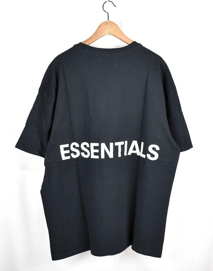 FOG/フォグ エッセンシャルズ バックロゴTシャツ ESSENTIALS fear of god サイズ:M カラー:ブラック【中古】【古着】【USED】【181223】【yast】