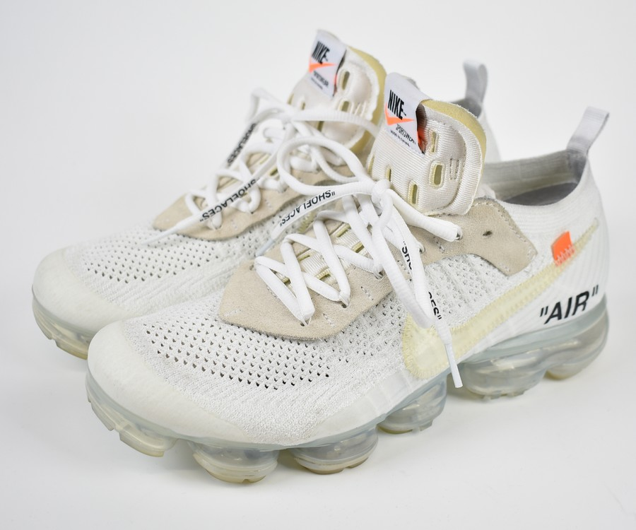 san francisco 118ed 6c82c OFF-WHITE X NIKE  off-white X Nike air vapor max sneakers THE TEN AIR  VAPORMAX FLYKNIT AA3831-100 size  A 27cm color  white