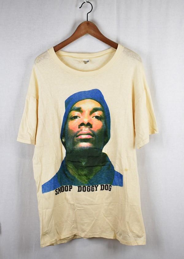 Snoop Doggy Dogg/スヌープドッグ ヴィンテージプリントTシャツ サイズ:XXXL カラー:オフホワイト(ベージュ)【中古】【古着】【USED】【191128】【yast】