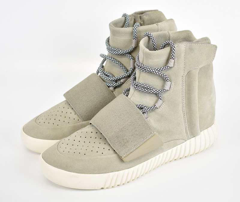 on sale c7327 99791 750 ADIDAS Yeezy 750 Boost/ Adidas X easy boost higher frequency  elimination sneakers size: 10 colors: Khaki