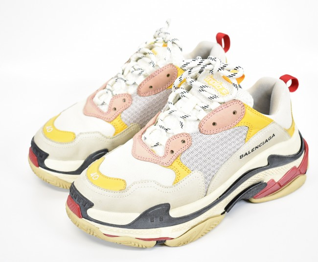 878d822436b6 BALENCIAGA  バレンシアガ 18SS triple S sneakers TRIPLE S TRAINERS size  40 colors   Pink   yellow