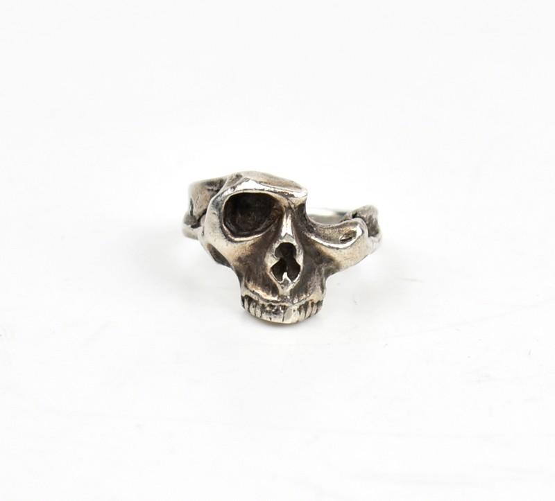 Tokyo Human Experiments/トウキョウヒューマンエクスペリメンツ リジェクションスカルリング Rejection Skull Ring サイズ:12.5号 カラー:シルバー【中古】【古着】【USED】【200211】【yast】