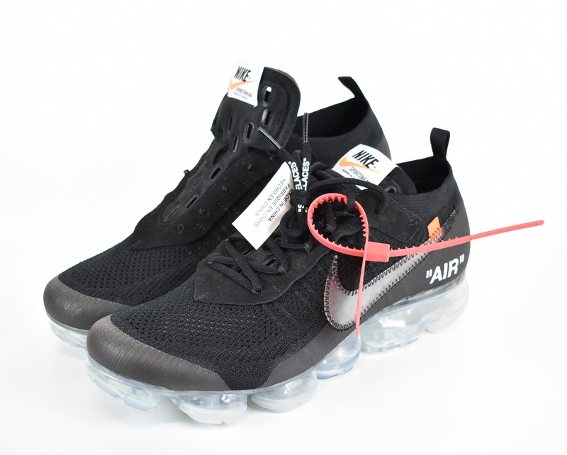 868c74583d1 OFF-WHITE X NIKE  off-white X Nike air vapor max sneakers THE TEN AIR  VAPORMAX FLYKNIT AA3831-002 size  A 30cm color  Black