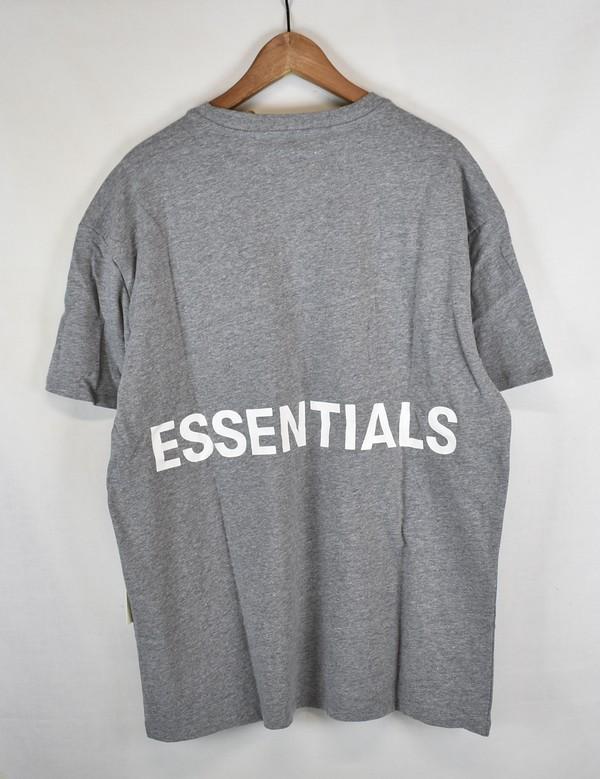 FOG/フォグ エッセンシャルズ バックプリントTシャツ ESSENTIALS fear of god サイズ:S カラー:グレー【中古】【古着】【USED】【180924】【yast】