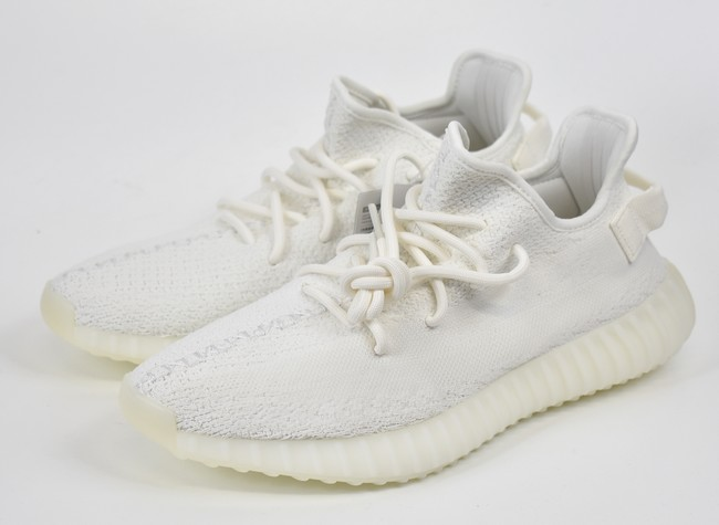 ADIDAS Yeezy Boost 350 V2 Adidas easy boost 350 V2 low frequency cut sneakers CP9366 size: US9.5(27.5cm) color: Cream white