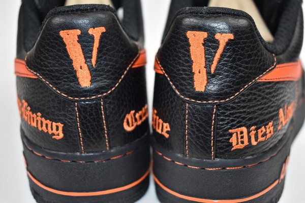 VLONE X NIKE ヴィローン X Nike air force 1 sneakers AA5360 001 size: A 27cm color: Black orange
