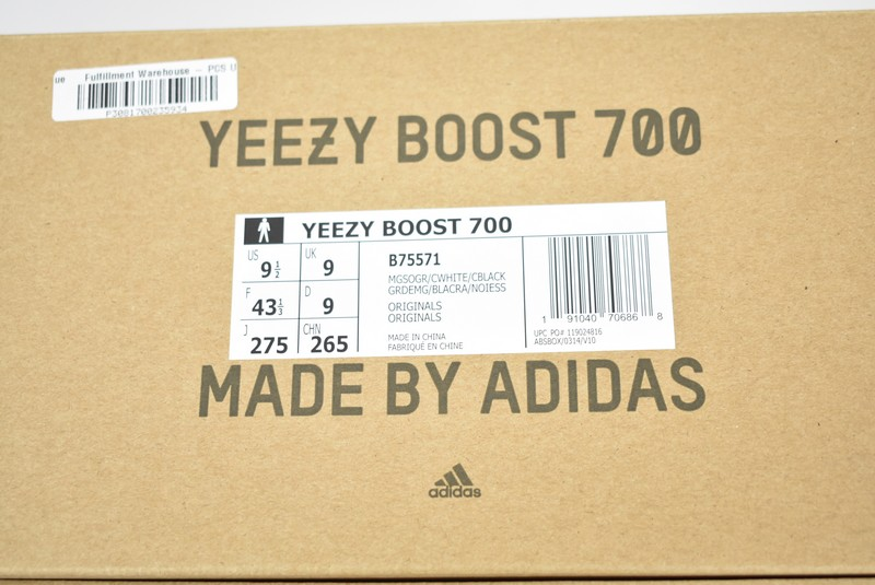 finest selection 6006f 393a4 ADIDAS YEEZY BOOST 700/ Adidas easy boost 700 low-frequency cut sneakers  wave runner WAVE RUNNER size: US9.5 (27.5cm) color: Maruti