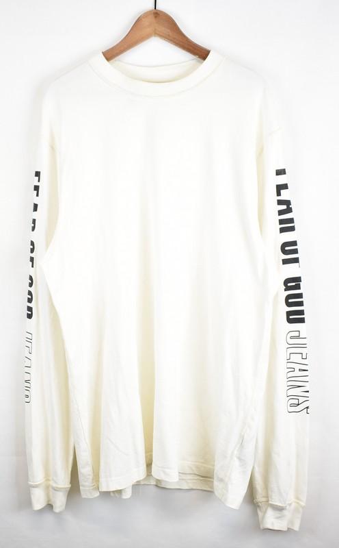 FEAR OF GOD/フィアーオブゴッド 5th インサイドアウトロングスリーブTシャツ サイズ:- カラー:ホワイト【中古】【古着】【USED】【180801】【yast01】