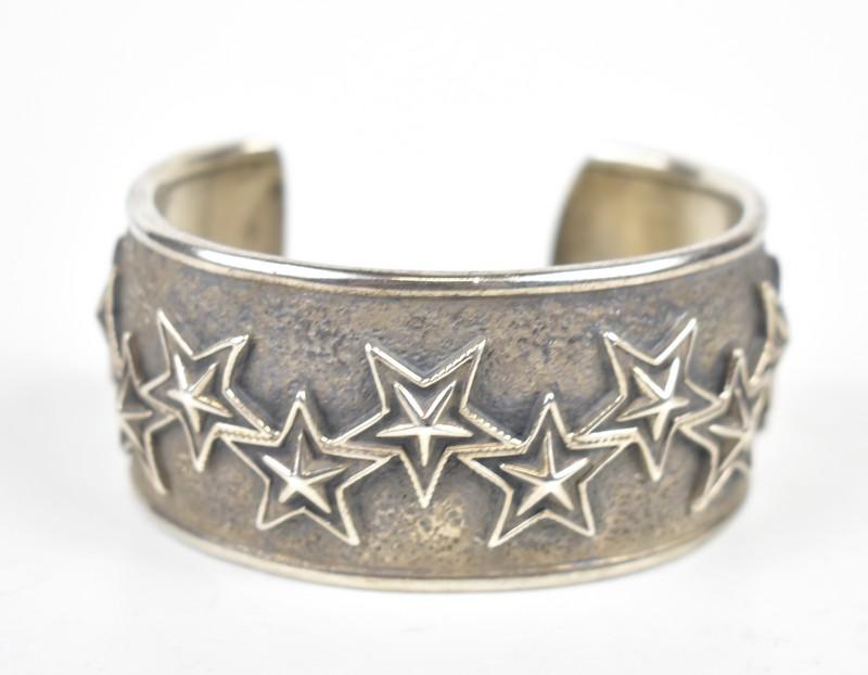 CODY SANDERSON/コディサンダーソン スターバングル ブレスレット 10 out of 10 stars cuff bracelet  サイズ:- カラー:シルバー【中古】【古着】【USED】【191222】【yast】