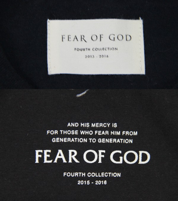 FEAR OF GOD/ Fear - of god 4th collection THE ROLLING STONES vintage T-shirt size: - A color: Black