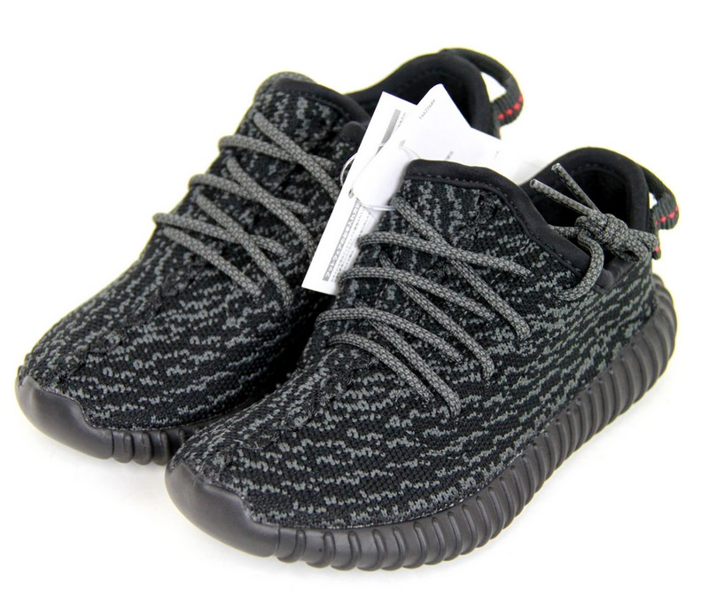 sale retailer 46157 4acfb ADIDAS Yeezy Boost 350 infant by Kanye West, the adidas eager boost 350  locate sneaker kids BB5355 size:JP15.5 color: black s7 unread ya