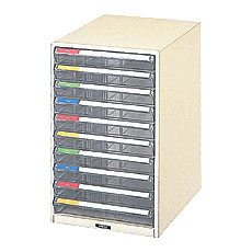 ナカバヤシ レターケース 机上 書類収納 B4サイズ B4-10P 収納ボックス 収納用品