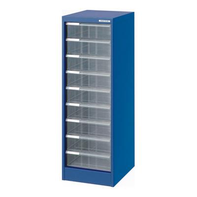 ナカバヤシ アバンテV2 フロアケース 書類ケース 書類棚 A4 深9段 AF-M9 ブルー 収納ボックス 収納用品