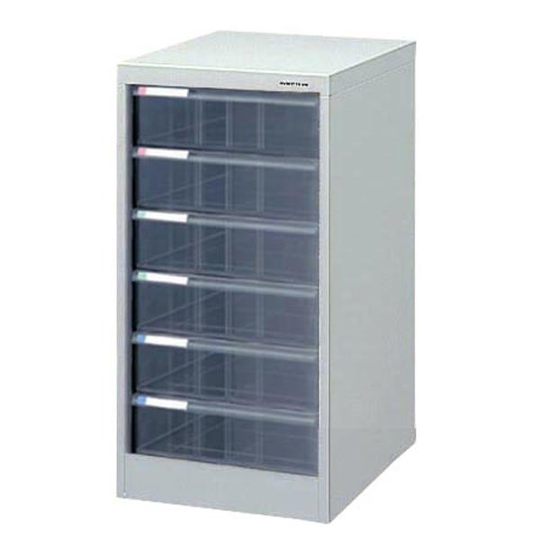ナカバヤシ アバンテV2 フロアケース 書類ケース 書類棚A4 深6段 AF-M6 ニューグレー 収納ボックス 収納用品