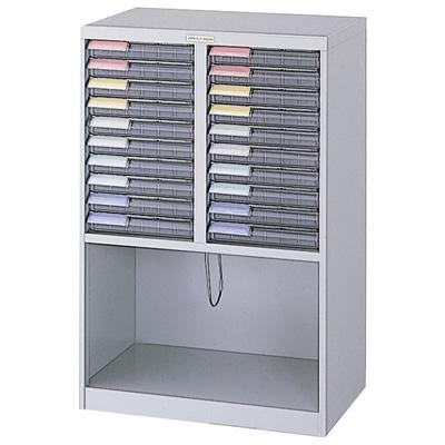 ナカバヤシ メディシス・フロアタイプA4 書類棚 書類整理 H900 MAF-W111N グレー 収納ボックス 収納用品
