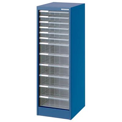 ナカバヤシ アバンテV2 フロアケース 書類ケース 書類棚 A4 浅6深6段 AF-H12 ブルー