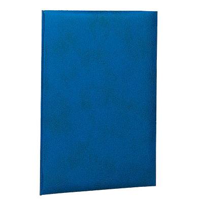 卒業証書や免状などを折らずに収納する2つ折りのファイル ナカバヤシ 証書ファイル 賞状ファイル A4判 VPクロス貼りタイプ 気質アップ FSL-A4B 紺 アウトレットセール 特集