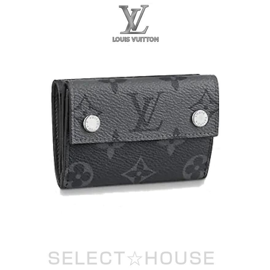 【パリから到着】LOUIS VUITTON ポルトフォイユ・コンパクト・ディスカバリー【SELECTHOUSE☆セレクトハウス】ルイ・ヴィトン メンズ コンパクトウォレット 財布