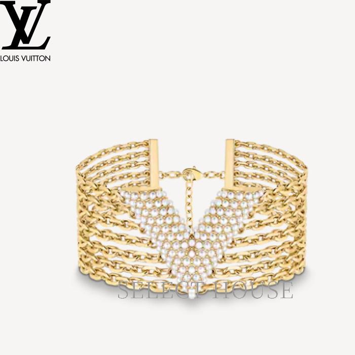 激安な 【送料無料】 VUITTON【SELECTHOUSE☆セレクトハウス】LOUIS VUITTON ルイ・ヴィトン ペルル V マンシェット・エセンシャル V ペルル, パンダゴン:ac40963b --- beautyflurry.com