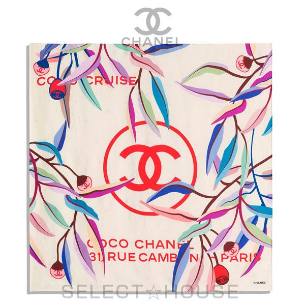 【お取り寄せ】 CHANEL スカーフ【20C】【SELECTHOUSE☆セレクトハウス】スカーフ ストール シャネル