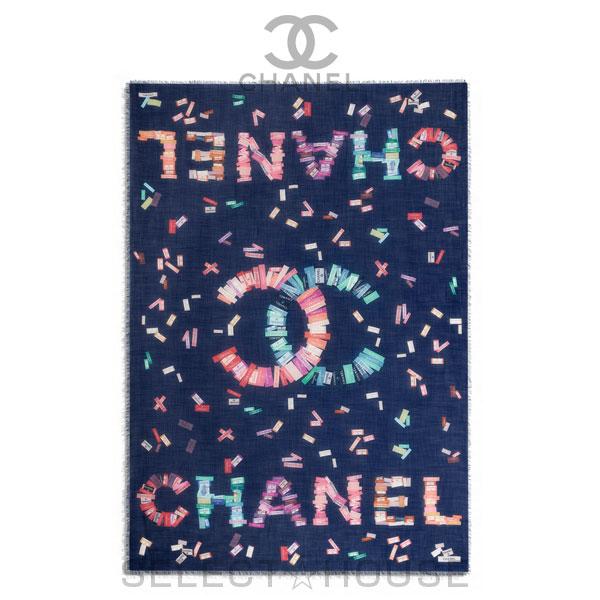 【お取り寄せ】 CHANEL ストール【20C】【SELECTHOUSE☆セレクトハウス】スカーフ ストール シャネル