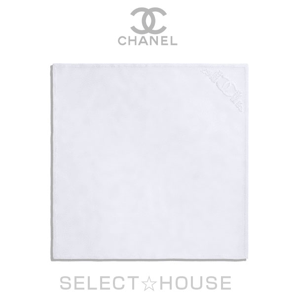 【お取り寄せ】 CHANEL ハンカチーフ【20C】【SELECTHOUSE☆セレクトハウス】ハンカチ チーフ シャネル