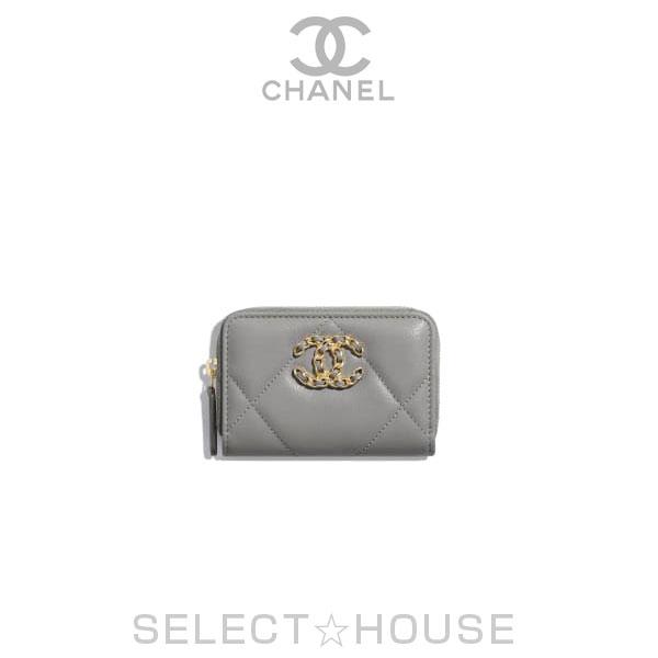 【お取り寄せ】CHANEL 19 ジップ コインパース【20C】【SELECTHOUSE☆セレクトハウス】ウォレット 財布 コインケース シャネル