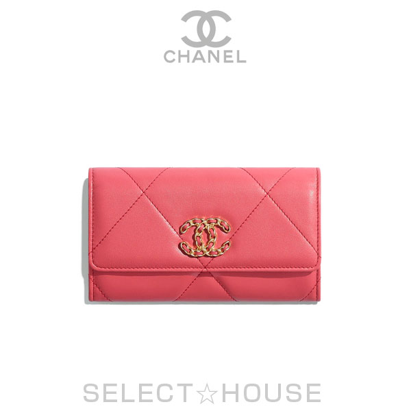 【お取り寄せ】シャネル CHANEL 19 フラップ ウォレット【20C】【SELECTHOUSE☆セレクトハウス】ウォレット 財布