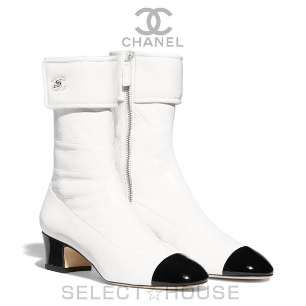 【お取り寄せ】CHANEL ショート ブーツ【20C】【SELECTHOUSE☆セレクトハウス】シューズ ブーツ レディース シャネル