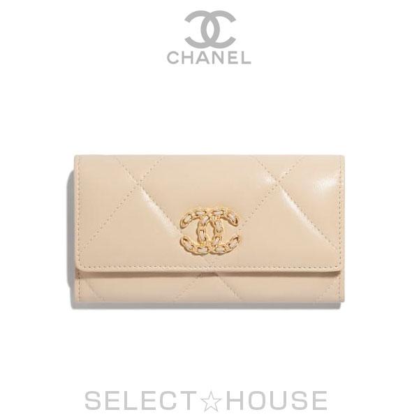 【お取り寄せ】シャネル CHANEL 19 フラップ ウォレット【19A】【SELECTHOUSE☆セレクトハウス】ウォレット 財布