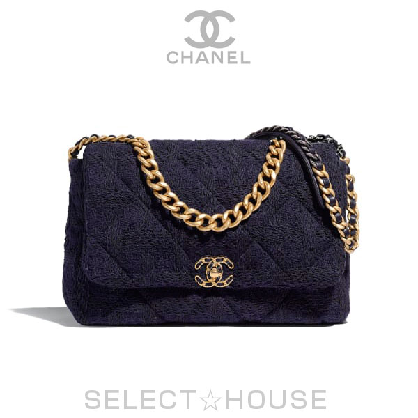 【お取り寄せ】CHANEL 19 ラージ フラップ バッグ【19A】【SELECTHOUSE☆セレクトハウス】バッグ ハンドバッグ