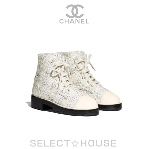 【お取り寄せ】CHANEL ショート ブーツ【19A】【SELECTHOUSE☆セレクトハウス】シューズ ブーツ