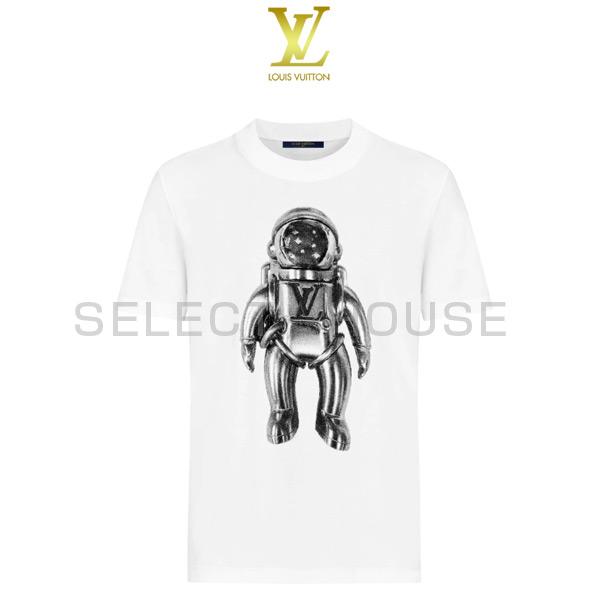 【送料無料】【SELECTHOUSE☆セレクトハウス】【Galaxy Story】LOUIS VUITTON ルイ・ヴィトンジャカードベロアスペースマンTシャツTシャツ