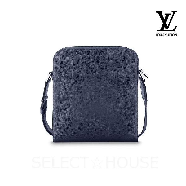 clair et distinctif haute couture vente limitée LOUIS VUITTON Louis Vuitton Anton pochette blue malines