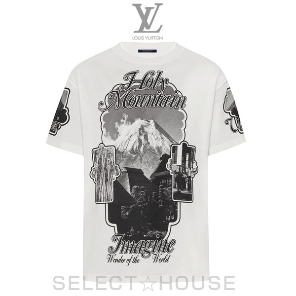 LOUIS VUITTON ホーリーマウンテンプリンテッドTシャツ【19-20AW】【お取り寄せ】【SELECTHOUSE☆セレクトハウス】ルイ・ヴィトン メンズ