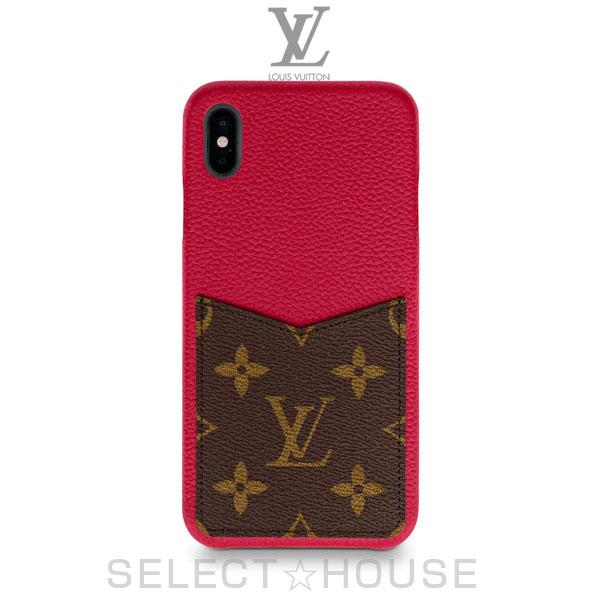 LOUIS VUITTON IPHONE・バンパー XS MAX【19A】【お取り寄せ】【SELECTHOUSE☆セレクトハウス】ルイ・ヴィトン スマホケース アイフォンケース