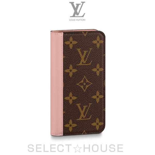 LOUIS VUITTON IPHONE X & XS・フォリオ【19A】【お取り寄せ】【SELECTHOUSE☆セレクトハウス】ルイ・ヴィトン アイフォンケース