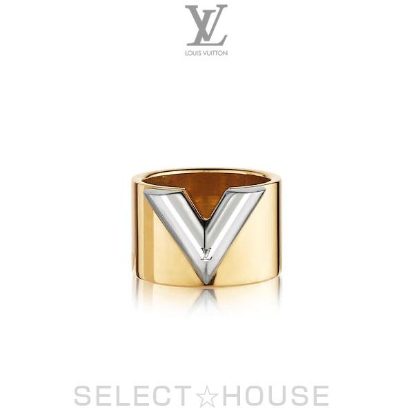 【19SS】LOUIS VUITTON ルイ・ヴィトン リング・エセンシャル V【SELECTHOUSE☆セレクトハウス】