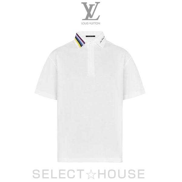 【19SS】LOUIS VUITTON ルイ・ヴィトン LV レインボーカラーハーフジップポロ【SELECTHOUSE☆セレクトハウス】トップス