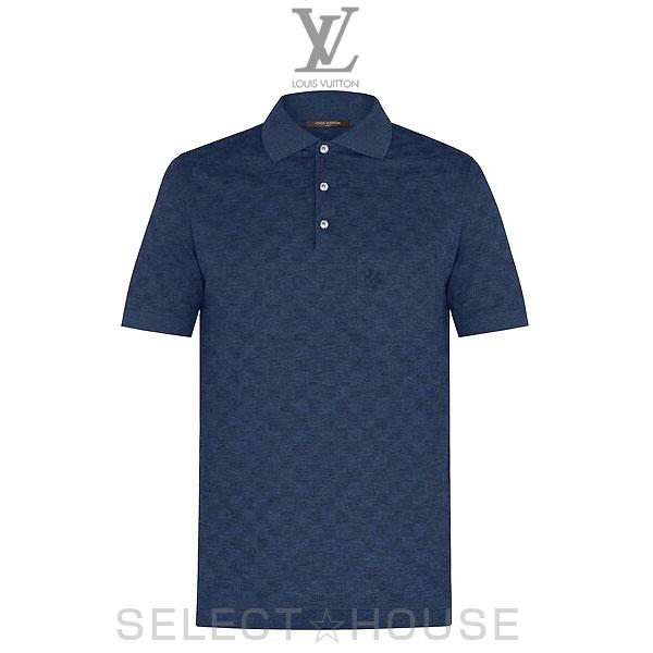 【19SS】LOUIS VUITTON ルイ・ヴィトン クラシックダミエピケポロシャツ【SELECTHOUSE☆セレクトハウス】トップス