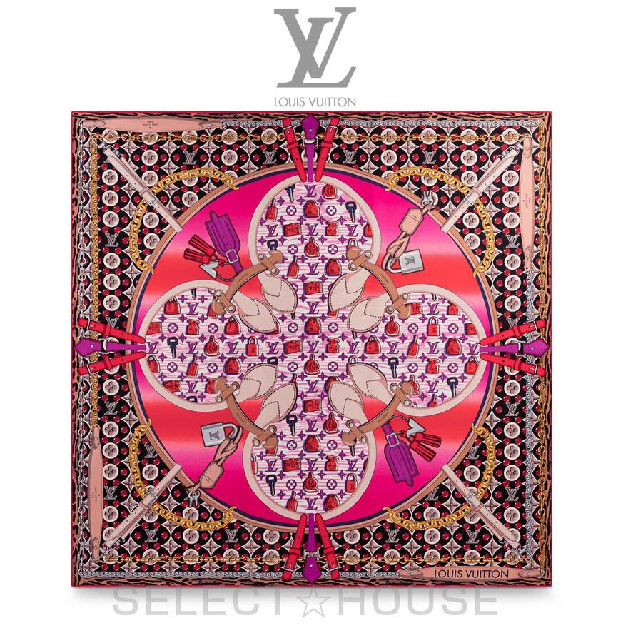LOUIS VUITTONルイ・ヴィトン【20SS】カレ バブルグラム【送料無料】【SELECTHOUSE☆セレクトハウス】レディース ストール スカーフ 20春夏