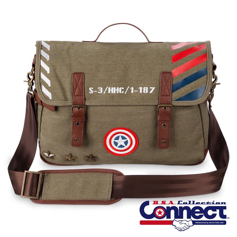 お取り寄せ マーベル Marvel キャプテンアメリカ バッグ メッセンジャーバッグ