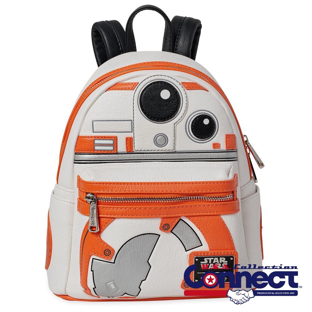 お取り寄せ スターウォーズ Star Wars BB8 バッグ バックパック ラウンジフライ Loungefly