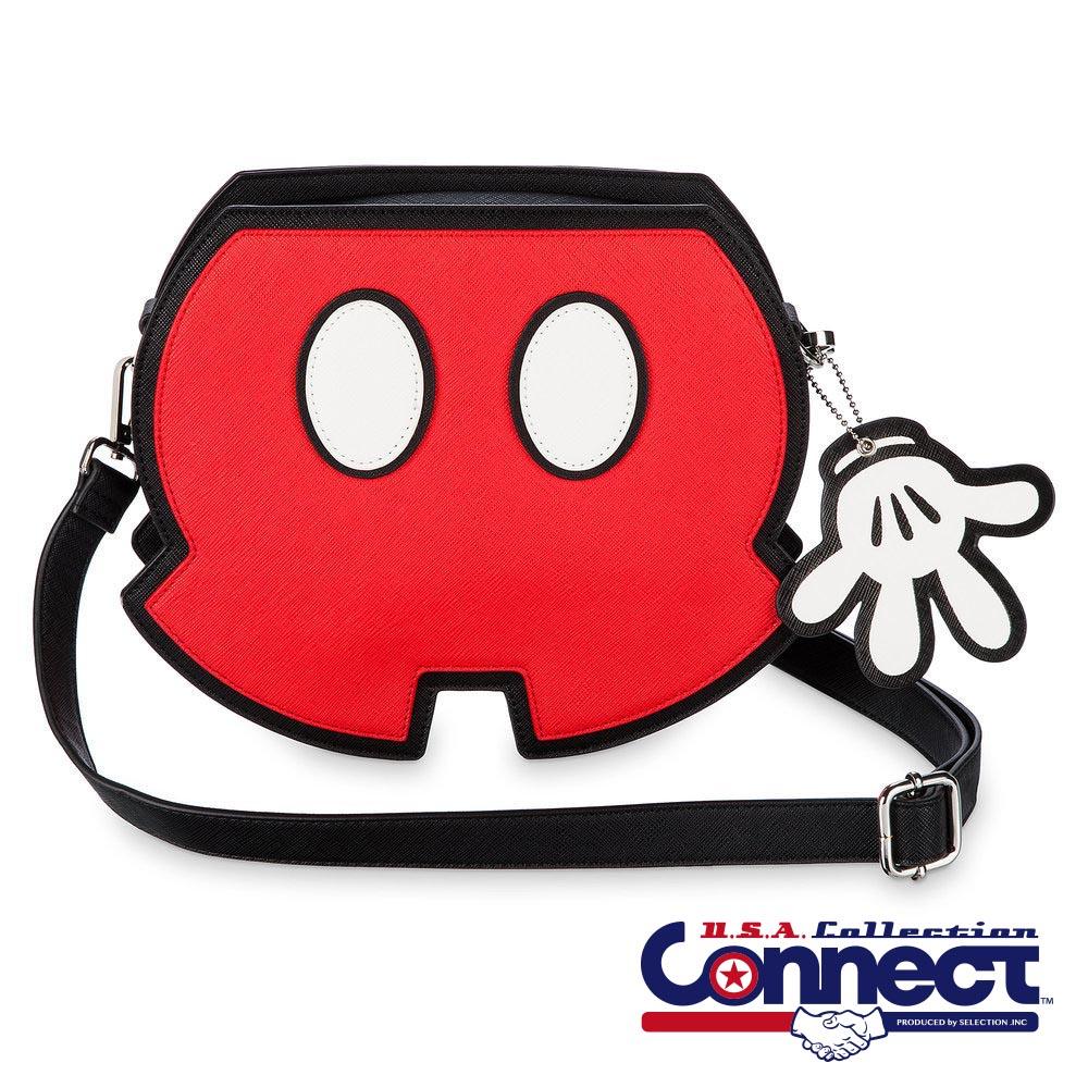 お取り寄せ ディズニー US公式 ミッキーマウス バッグ ボディー バッグ ラウンジフライ Loungefly