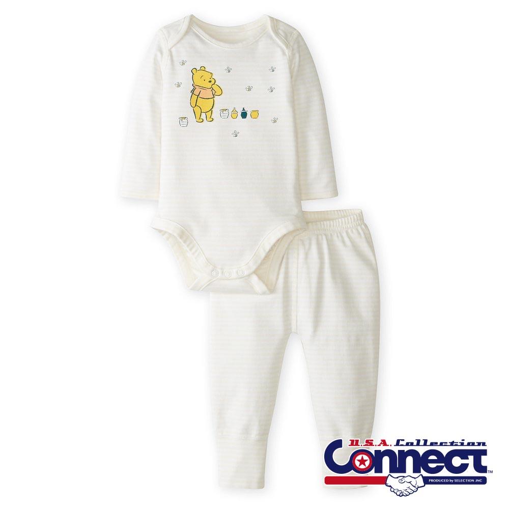 お取り寄せ ディズニー Disney US公式 ベビー 赤ちゃん プーさん ベビー服 上下 セット