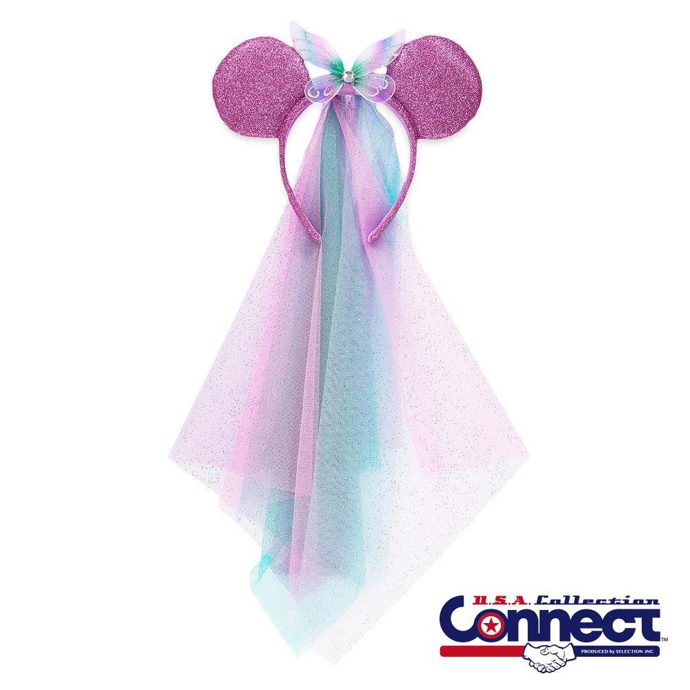 ディズニー Disney レディース ミニーマウス ベール付き フェアリー カチューシャ ギフト プレゼント