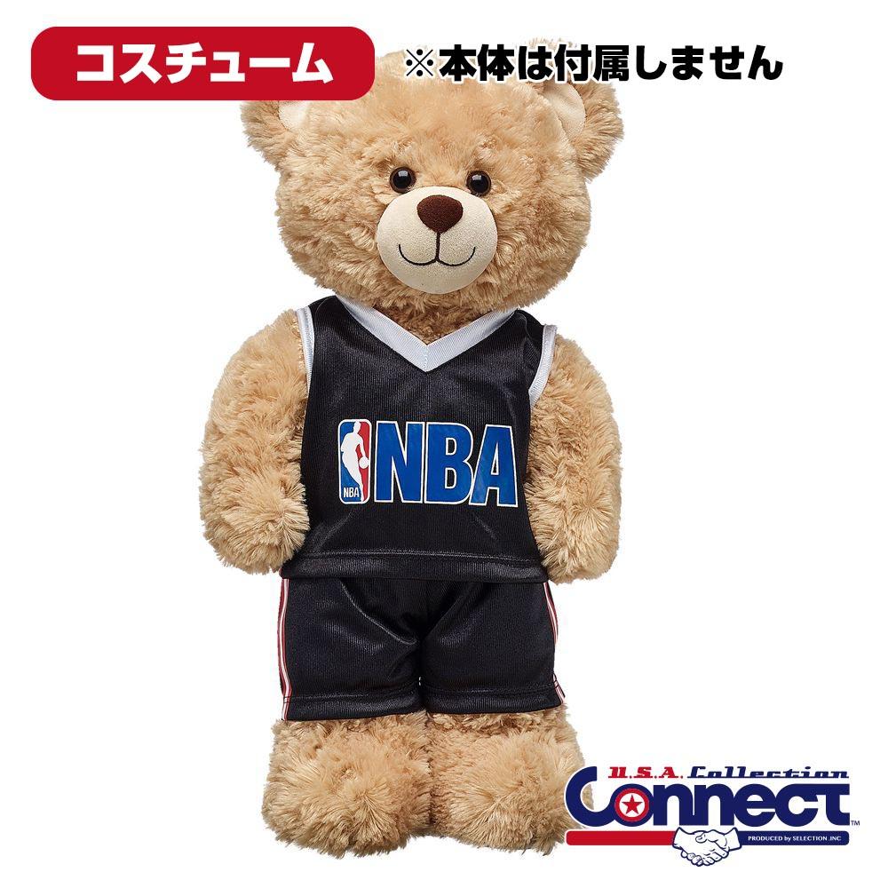 ダッフィー シェリーメイ コスチューム グッズ NBA ユニフォーム 2点セット ビルドアベア