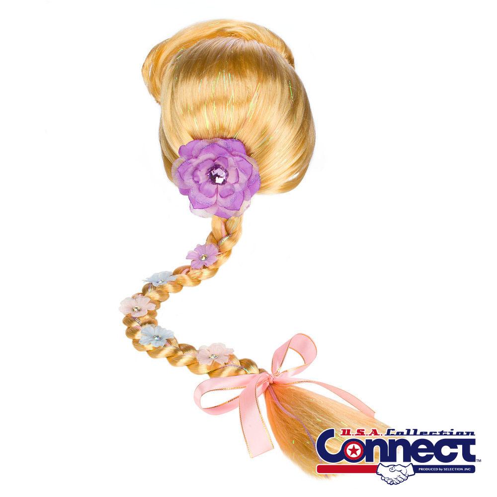 プリンセス ディズニー Disney Girls ラプンツェル ウィッグ コスチューム ギフト プレゼント
