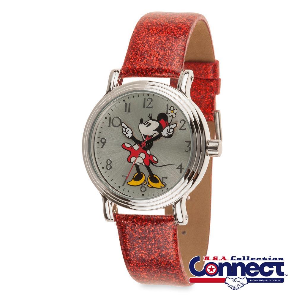 ディズニー Disney レディース メンズ兼用 ミニーマウス 腕時計 ギフト プレゼント